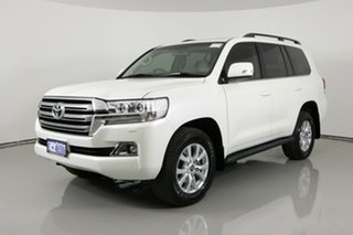2018 Toyota Landcruiser VDJ200R LC200 VX (4x4) White 6 Speed Automatic Wagon.