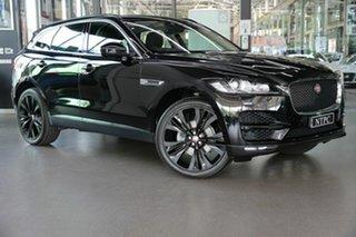 2016 Jaguar F-PACE X761 MY17 R-Sport Black 8 Speed Sports Automatic Wagon.