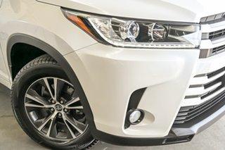 2018 Toyota Kluger GSU55R GX AWD Crystal Pearl 8 Speed Sports Automatic Wagon.