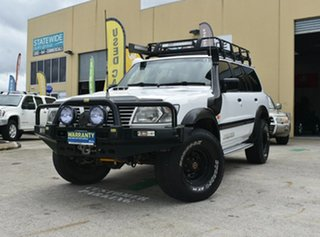 2001 Nissan Patrol GU II ST (4x4) White 4 Speed Automatic 4x4 Wagon.