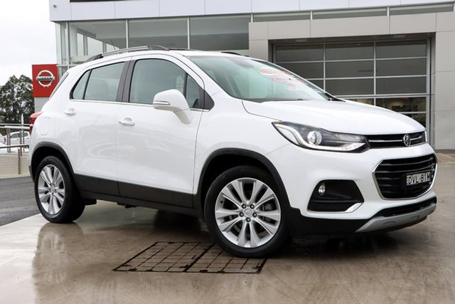 Used Holden Trax TJ MY17 LTZ Liverpool, 2017 Holden Trax TJ MY17 LTZ White 6 Speed Automatic Wagon