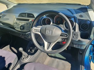 2008 Honda Jazz GD VTi Blue 5 Speed Manual Hatchback.