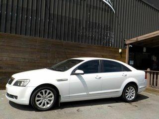 2009 Holden Statesman WM MY09.5 White 5 Speed Sports Automatic Sedan