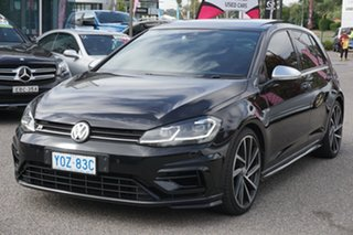 2018 Volkswagen Golf 7.5 MY18 R DSG 4MOTION Black 7 Speed Sports Automatic Dual Clutch Hatchback