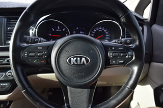 2015 Kia Carnival YP MY16 SLi Graphite 6 Speed Sports Automatic Wagon.