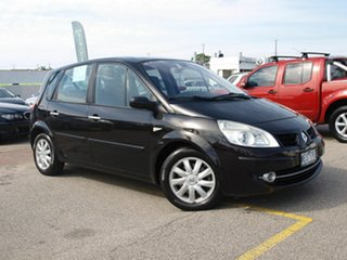 2006 Renault Scenic II J84 Dynamique Black 4 Speed Sports Automatic Hatchback.