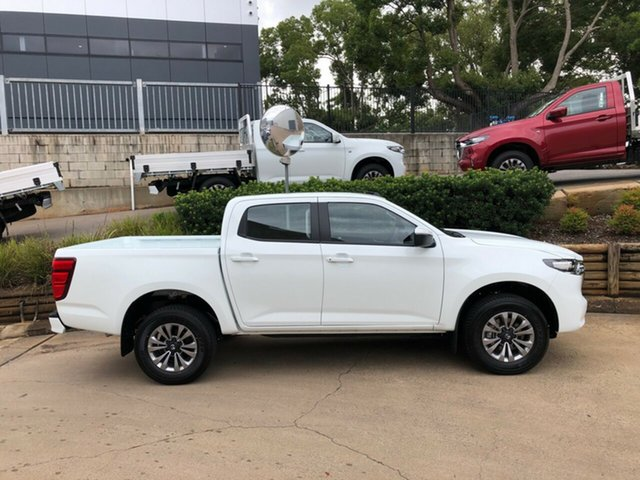 Demo Mazda BT-50 TFS40J XT Toowoomba, 2020 Mazda BT-50 TFS40J XT White 6 Speed Manual Utility