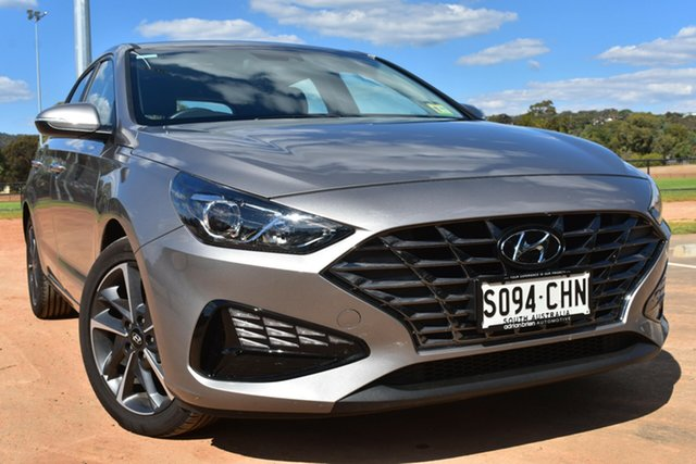 Demo Hyundai i30 PD.V4 MY21 St Marys, 2020 Hyundai i30 PD.V4 MY21 Fluidic Metal 6 Speed Sports Automatic Hatchback