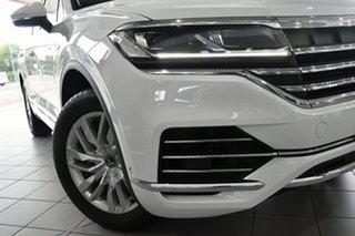 2020 Volkswagen Touareg CR MY21 170TDI Tiptronic 4MOTION White 8 Speed Sports Automatic Wagon.