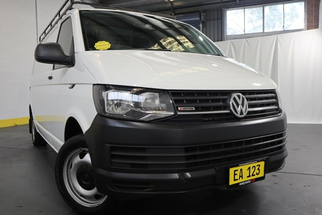 Used Volkswagen Transporter T6 MY17 TDI 400 LWB LOW 4MOTION Castle Hill, 2017 Volkswagen Transporter T6 MY17 TDI 400 LWB LOW 4MOTION White 7 Speed Auto Direct Shift Van