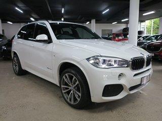 2014 BMW X5 F15 xDrive30d Alpine White 8 Speed Sports Automatic Wagon.