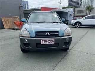 2005 Hyundai Tucson Blue 4 Speed Auto Selectronic Wagon.