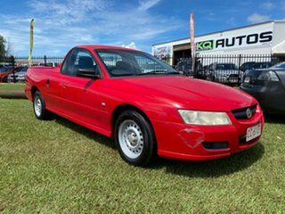 2005 Holden Ute VZ Red 4 Speed Automatic Utility.