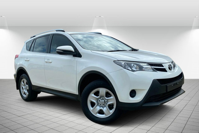 Used Toyota RAV4 ASA44R MY14 GX AWD Hervey Bay, 2015 Toyota RAV4 ASA44R MY14 GX AWD White 6 Speed Sports Automatic Wagon