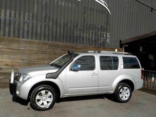 2005 Nissan Pathfinder R51 TI Silver 5 Speed Sports Automatic Wagon
