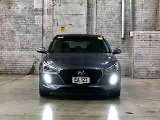 2017 Hyundai i30 GD4 Series II MY17 Active Grey 6 Speed Sports Automatic Hatchback.