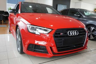 2018 Audi S3 8V MY18 Limited Edition S Tronic Quattro Red 7 Speed Sports Automatic Dual Clutch Sedan.