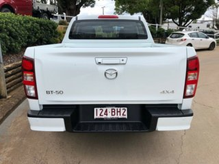 2020 Mazda BT-50 TFS40J XT White 6 Speed Manual Utility