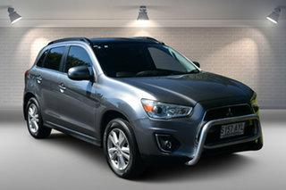 2013 Mitsubishi ASX XB MY13 Aspire 2WD Grey 6 Speed Constant Variable Wagon.