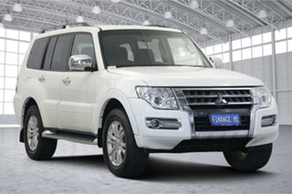 2018 Mitsubishi Pajero NX MY18 GLX White 5 Speed Sports Automatic Wagon.