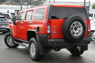 2008 Hummer H3 Luxury Orange 4 Speed Automatic Wagon.