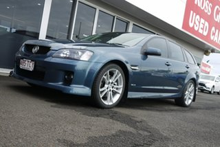 2010 Holden Commodore VE MY10 SS V Sportwagon Karma Blue 6 Speed Sports Automatic Wagon.
