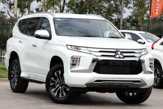 2021 Mitsubishi Pajero Sport QF MY21 Exceed White 8 Speed Sports Automatic Wagon.