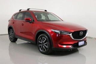 2017 Mazda CX-5 MY17.5 (KF Series 2) Akera (4x4) Soul Red 6 Speed Automatic Wagon.