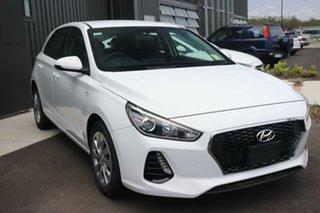 2019 Hyundai i30 PD.3 MY20 Go Polar White 6 Speed Sports Automatic Hatchback.