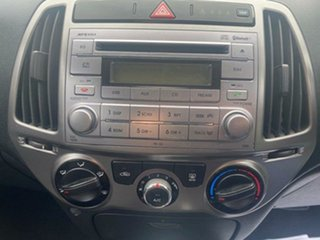 2013 Hyundai i20 PB MY14 Active Blue 4 Speed Automatic Hatchback