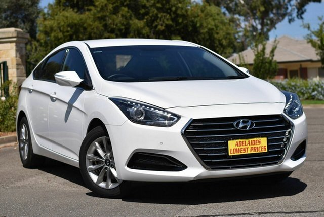 Used Hyundai i40 VF4 Series II Active D-CT Enfield, 2017 Hyundai i40 VF4 Series II Active D-CT White 7 Speed Sports Automatic Dual Clutch Sedan