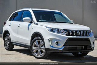 2021 Suzuki Vitara LY Series II 2WD Pearl White 6 Speed Sports Automatic Wagon.