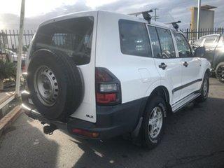 2000 Mitsubishi Pajero NM GLX LWB (4x4) White 5 Speed Auto Sports Mode Wagon.