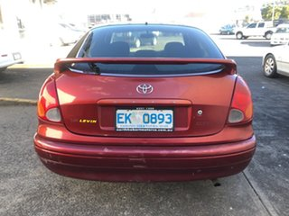 2001 Toyota Corolla ZZE122R Levin Red 4 Speed Automatic Hatchback