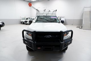 2017 Ford Ranger PX MkII XL Hi-Rider White 6 Speed Sports Automatic Cab Chassis.