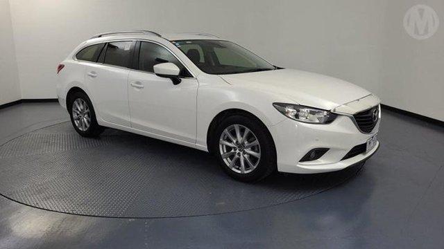 Used Mazda 6 6C MY17 (gl) Sport Altona North, 2017 Mazda 6 6C MY17 (gl) Sport Snowflake White 6 Speed Automatic Wagon