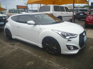 2015 Hyundai Veloster FS4 Series II SR Coupe Turbo + White 6 Speed Manual Hatchback