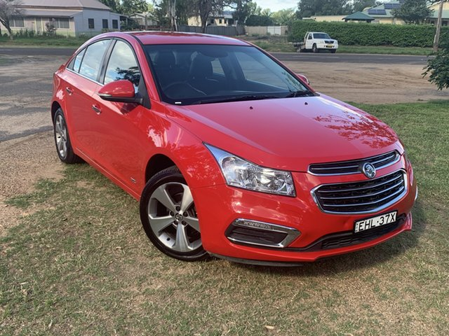 Pre-Owned Holden Cruze JH Series II MY16 Z-Series Moree, 2016 Holden Cruze JH Series II MY16 Z-Series Red 6 Speed Sports Automatic Sedan