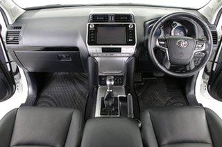 2019 Toyota Landcruiser GDJ150R MY18 Prado GXL (prem Int) (4x4) White 6 Speed Automatic Wagon