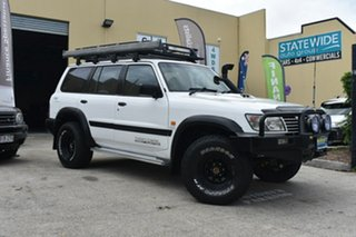 2001 Nissan Patrol GU II ST (4x4) White 4 Speed Automatic 4x4 Wagon