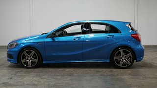 2015 Mercedes-Benz A-Class W176 805+055MY A250 D-CT Sport Blue 7 Speed Sports Automatic Dual Clutch