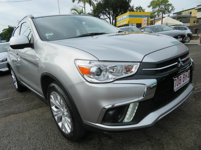 Used Mitsubishi ASX XC MY19 ES 2WD Mount Gravatt, 2019 Mitsubishi ASX XC MY19 ES 2WD Silver 1 Speed Constant Variable Wagon