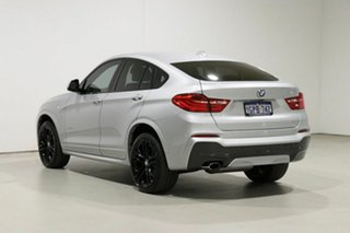 2018 BMW X4 F26 MY16 xDrive 20D Silver 8 Speed Automatic Coupe