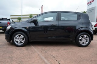 2012 Holden Barina TM Black 6 Speed Automatic Hatchback