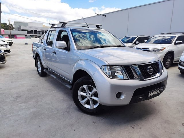 Used Nissan Navara D40 S6 MY12 ST Liverpool, 2014 Nissan Navara D40 S6 MY12 ST Silver, Chrome 6 Speed Manual Utility