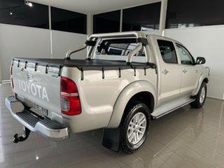 2014 Toyota Hilux KUN26R MY14 SR5 Double Cab Silver, Chrome 5 Speed Automatic Utility.