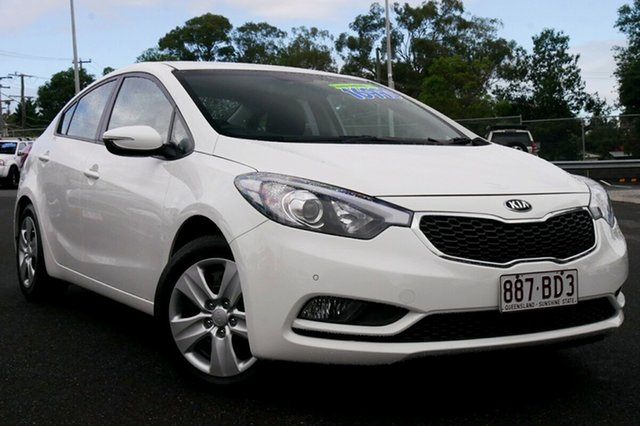 Used Kia Cerato YD MY15 S Hillcrest, 2015 Kia Cerato YD MY15 S White 6 Speed Sports Automatic Sedan
