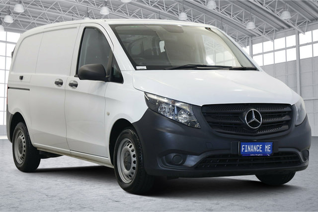 Used Mercedes-Benz Vito 447 111CDI SWB Victoria Park, 2016 Mercedes-Benz Vito 447 111CDI SWB White 6 Speed Manual Van