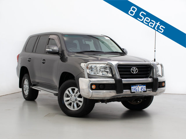 Used Toyota Landcruiser VDJ200R 09 Upgrade GXL (4x4), 2012 Toyota Landcruiser VDJ200R 09 Upgrade GXL (4x4) Grey 6 Speed Automatic Wagon