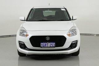 2018 Suzuki Swift AL GL Navigator White Continuous Variable Hatchback.